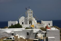 Le monastere de Chrisopighi - Sifnos - Cyclades - Grece