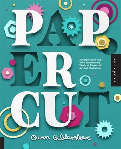 This paper art book is a cut above the rest #craft #design #typography