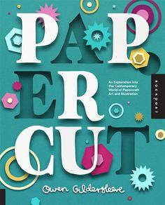 #Papercut art book