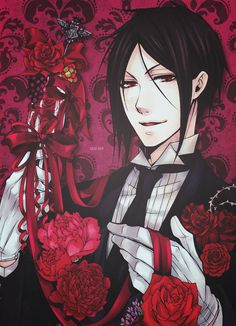 Sebastian Michaelis ♡ | Kuroshitsuji - Black Butler #Anime #Manga