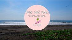 Vlog - Black Sand Beach in Bali with The Raw Advantage I Reallymili