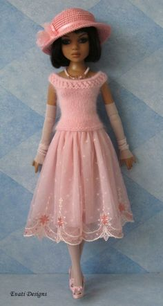 Evati OOAK Outfit for Ellowyne Wilde by *evati* via eBay, ends 6/18/14.