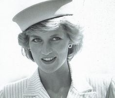 April 20, 1985: Prince Charles & Princess Diana arrive at the naval base, La Spezia during the Royal Tour of Italy. Day 2