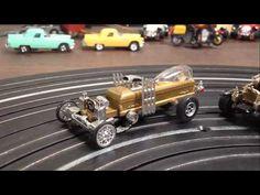 Munstermobile Dragula Custom TJet Slot Cars