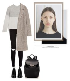 """""""#89"""" by kgarden ❤ liked on Polyvore featuring Vince, New Look and Alexander Wang"""