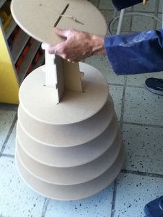 8 tier Cupcake stand made of wood mdf perfect for by promacraft   Look how they are made