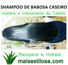 Óleo de Babosa Caseiro: Estimula o Crescimento dos Cabelos e Ajuda a Combater a Queda Beauty Care, Hair Beauty, Good Hair Day, Afro Hairstyles, About Hair, Spa Day, Makeup Art, Hair Hacks, Hair And Nails