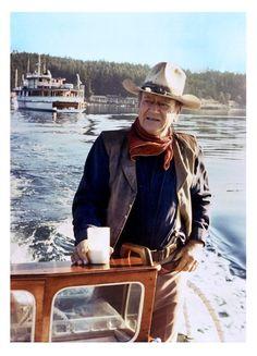 JOHN WAYNE in 1978.