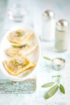 Sage and Pumpkin Ravioli