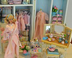 sleepytime gal + silkstone accessories   barbie