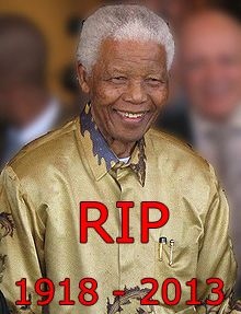 RIP. Nelson Mandela last words to the world, we lost a great man!