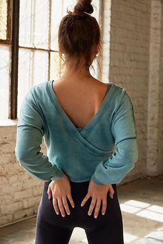 e6c1e38488 Charlotte Wrap Top Ballet Workout Clothes, Workout Clothing, Pilates Clothes,  Women Workout Clothes