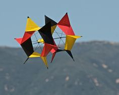 Kites- I love kites!  I have a really cool q-box kite, it has offset cubes- perhaps I shall have to post a pic, as it is that time of year to start getting it up in the sky!  Fair winds, good weather-yep, definitely time!