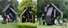 Archkids. Arquitectura para niños. Architecture for kids. Architecture for children.: Casas para jugar / Playhouses
