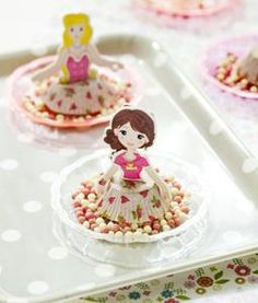 Leuke en eenvoudige meiden verjaardags traktatie - danseresjes!