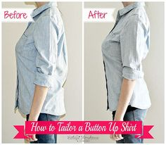 How to Tailor or Shirt for a Perfect Fit by Vintage Storehouse Co.