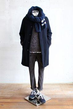 男人的冬季外套風格第六卷的建議