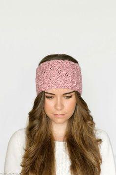 Ideas for crochet headband free ear warmers hopeful honey Crochet Headband Tutorial, Crochet Headband Free, Crochet Bows, Lace Headbands, Knitted Headband, Crochet Crafts, Crochet Clothes, Crochet Projects, Free Crochet