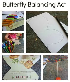 Make your own DIY standing butterfly craft