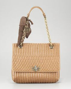 Lanvin Happy Quilted Calfskin Bag