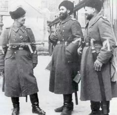 Cossacks in Wermacht WWII - pin by Paolo Marzioli
