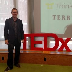 Doing my tedx talk in New York City