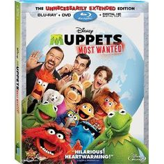 Wild Web Wednesday from RCWilley! Blu-ray  $16.95 + DVD $9.95 Muppets Most Wanted! - http://www.pinchingyourpennies.com/wild-web-wednesday-rcwilley-blu-ray16-95-dvd-9-95-muppets-wanted/ #Muppetsmostwanted, #RCWilley, #Wildwebwednesday