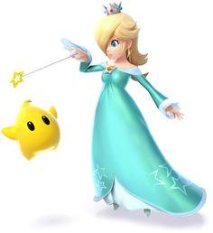 Rosalina  Luma - Super Smash Bros. for 3DS and Wii U YES!!!!!!!!!!!!!!!!!!!!!!!!!!!!!!!!!