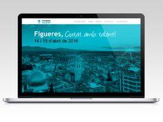 Web para Figueres Talent 2016.