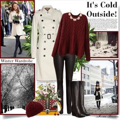 """""""It's Cold Outside!"""" by lipstickandheels on Polyvore"""