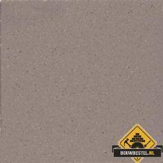 Mosa Softline 74050V 15x15 cm midden warm grijs fijn