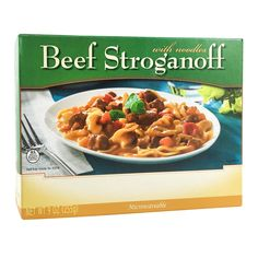 BariatricPal Single Serve Protein Entree - Beef Stroganoff with Noodles