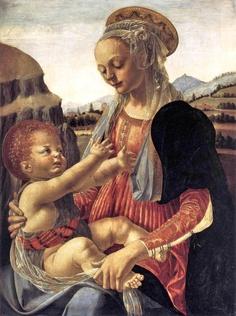 Andrea del Verrocchio (Italian Early Renaissance artist, c 1435-1488) Madonna and Child 1470