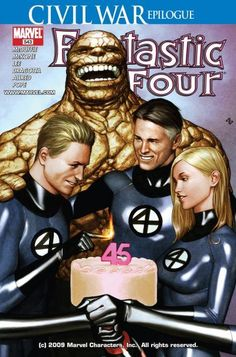 Civil War - Marvel - Invisible Woman - Human-torch - The Thing - Adi Granov, Mike McKone Comic Book Artists, Comic Book Characters, Marvel Characters, Comic Artist, Comic Character, Comic Books Art, Marvel Comics, Ms Marvel, Marvel Heroes