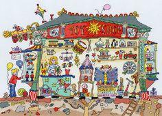 Gallery.ru / Фото #1 - Toy Shop - natalimiteva