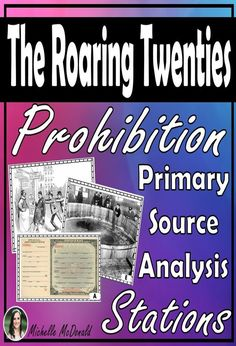 Analyze primary sources with these station activities to better understand the temperance movement and the problems with the amendment. Great for upper elementary and middle school. Can also work well as a daily entry task. 6th Grade Social Studies, Social Studies Activities, Teaching Social Studies, Texas Education Agency, Education Quotes, Education Galaxy, Teacher Lesson Plans, Teacher Resources, Primary Sources