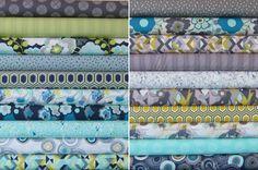 Urban Mod Half Yard Bundle -  Entire Collection - Art Gallery Fabrics - 20 Half Yards - 10 Yards Total - Free Shipping US