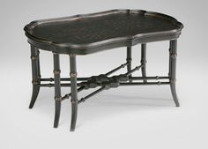 "Mirabelle Chinoiserie Coffee Table Dimensions: 36""w x 19""h x 26""d"