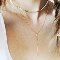 "Priscilla Ma (@priscillama_) on Instagram: ""Show it off, bare it all. | shop necklaces with link in bio!"""