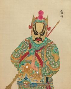 https://flic.kr/p/q1q6Zk | Chinese Opera figure d | For links/background, please see: bibliodyssey.blogspot.com.2014/11/peking-opera-figures.html