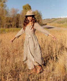 Gypsy Spells, Farmer's Daughter, Amelia Dress, Layered Skirt, Tea Roses, Piece Of Clothing, Drop Waist, Slow Fashion, Dressmaking