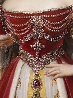 Portrait of Frances Anne Vane, Marchioness of Londonderry by Alexandre- Jean Dubois- Drahonet