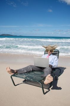 A work/life balance that allows me to work from the beach...