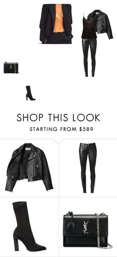 """246"" by mghv on Polyvore featuring Acne Studios, Yves Saint Laurent, Calvin Klein Collection and La Perla"