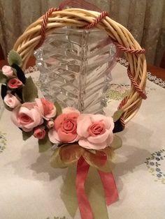 Corona fiori pannolenciby Maria D'Eugenio
