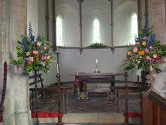 Sempringham Abbey chancel flowers