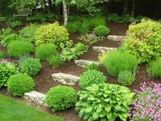 Shade Garden Design Ideas on Front Yard Landscaping Landscaping The ...