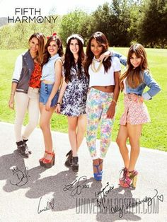 Five beautiful and extremely talented girls <3