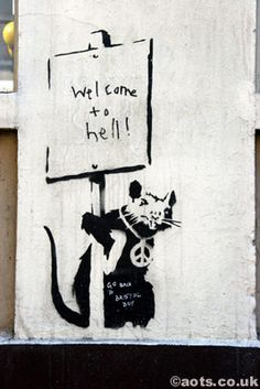 Welcome to Hell Rat, Banksy