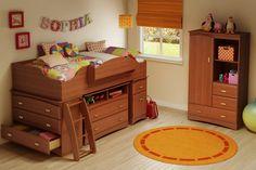 Best Boys Loft Beds for 2014- Imagine Loft Bed from PlatformBedsOnline.com